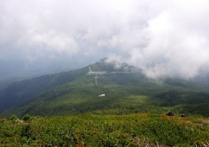 40 田の原と三笠山