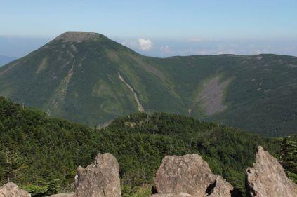 11 横岳からの蓼科山