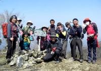 2014.3.16  3月定例山行 獅子ケ岳(783m)七洞岳(778m)縦走(三重県度会町)