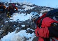 2014年1月12日 八ヶ岳 石尊稜 冬合宿