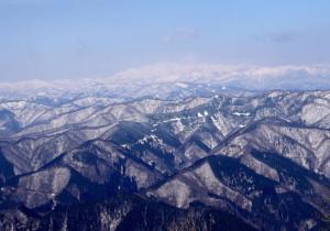 33 白山が見える