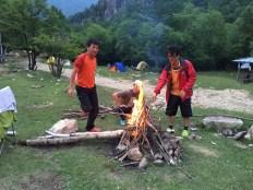 オヤジキャンプ