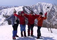 2003年 1月 高丸と烏帽子山