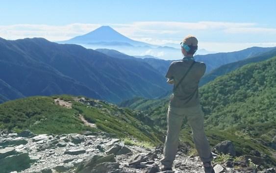塩見岳(3,046m)