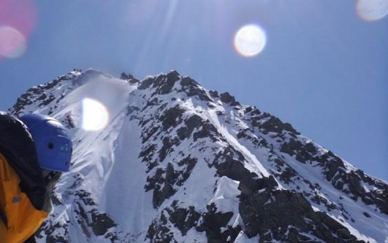西穂高岳(2909m)西尾根