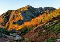 烏帽子岳(2628m)・野口五郎岳(2924.5m)