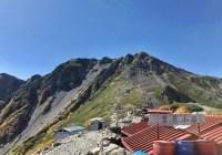 南アルプス白峰山脈北部9座縦走