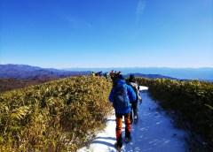 南沢山(1,564m)、横川山(1,620m)