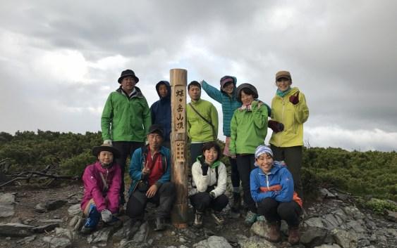 蝶ヶ岳(2,677m)・常念岳(2,857m)