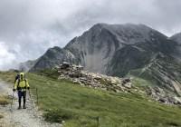 白馬三山(白馬岳2,932m~杓子岳2,812m~白馬鑓ヶ岳2,903m)