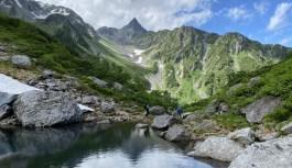 南岳(3,032m)~北穂高岳(3,106m)~奥穂高岳(3,190m)