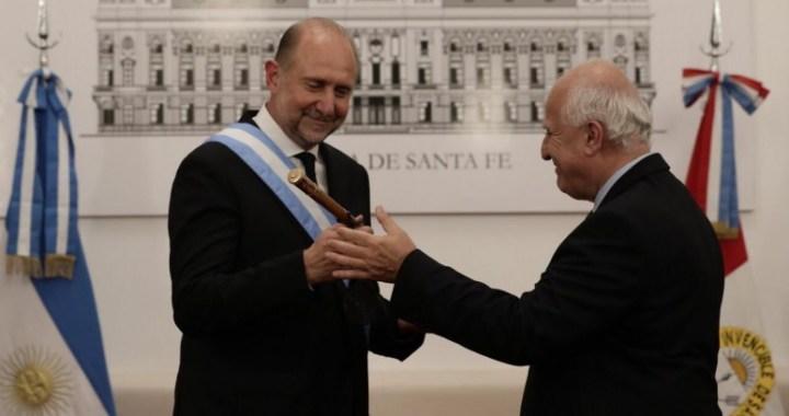 Perotti asumió y confirmó el Boleto Educativo Gratuito