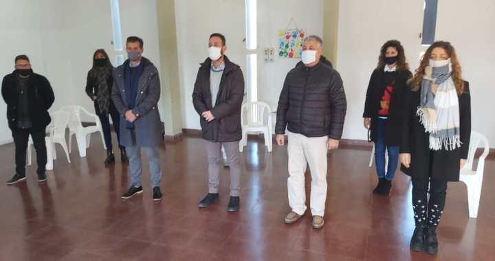 El Ministro de trabajo Roberto Sukerman visitó San Genaro