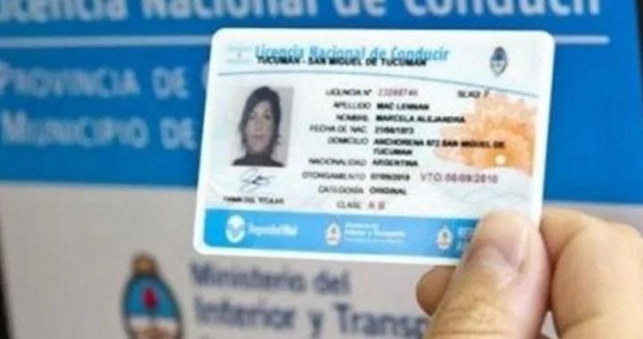 Vuelven a disponer de una nueva prórroga en el vencimiento de las licencias de conducir