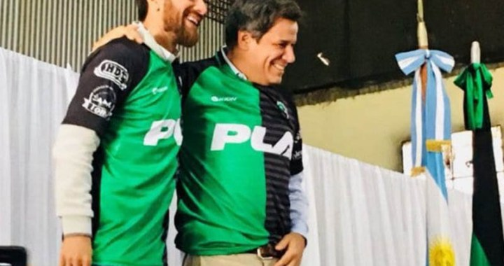 Leo Ponzio es el nuevo vicepresidente del club Williams Kemmis de Las Rosas