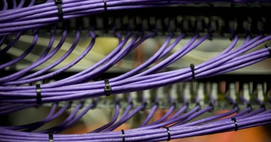 Cabling in the Data Centre at the Wellcome Trust Sanger Institute