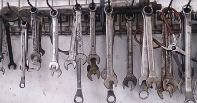 Spanners at a car workshop. Credit: ProjectManhattan
