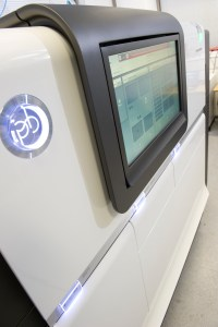 A PacBio sequencer, which performs SMRT (single-molecule real time) sequencing . Credit: Genome Research Limited