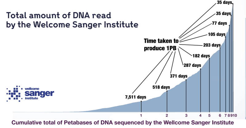 Its Genome Was Sequenced Last Year But >> Sanger S Super Sized Sequencing Scales New Heights Wellcome Sanger