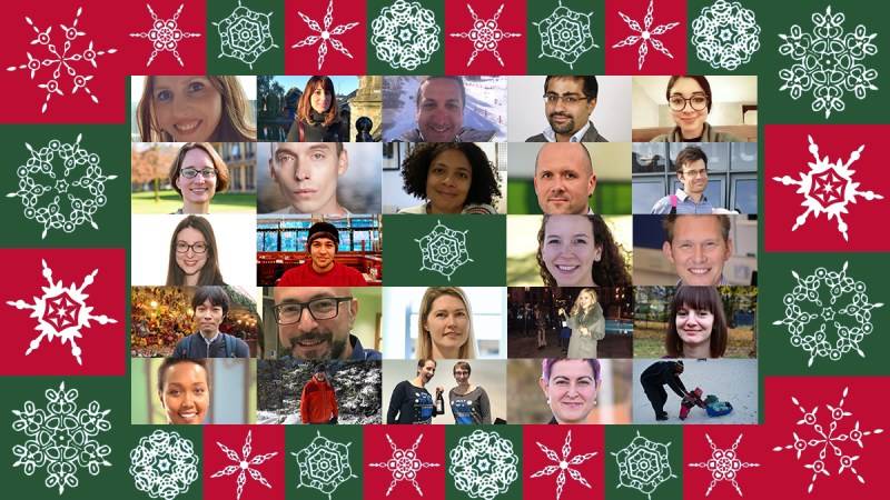 Our staff featured in the 2019 Twitter Advent Calendar