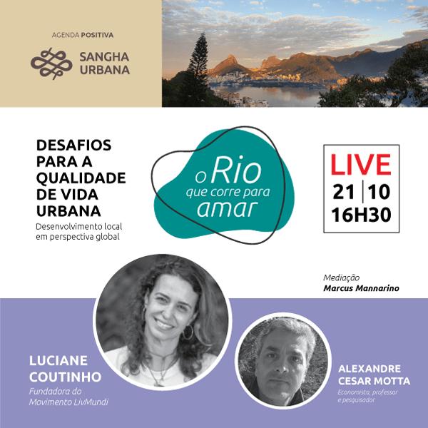 O Rio que corre para amar – live 01