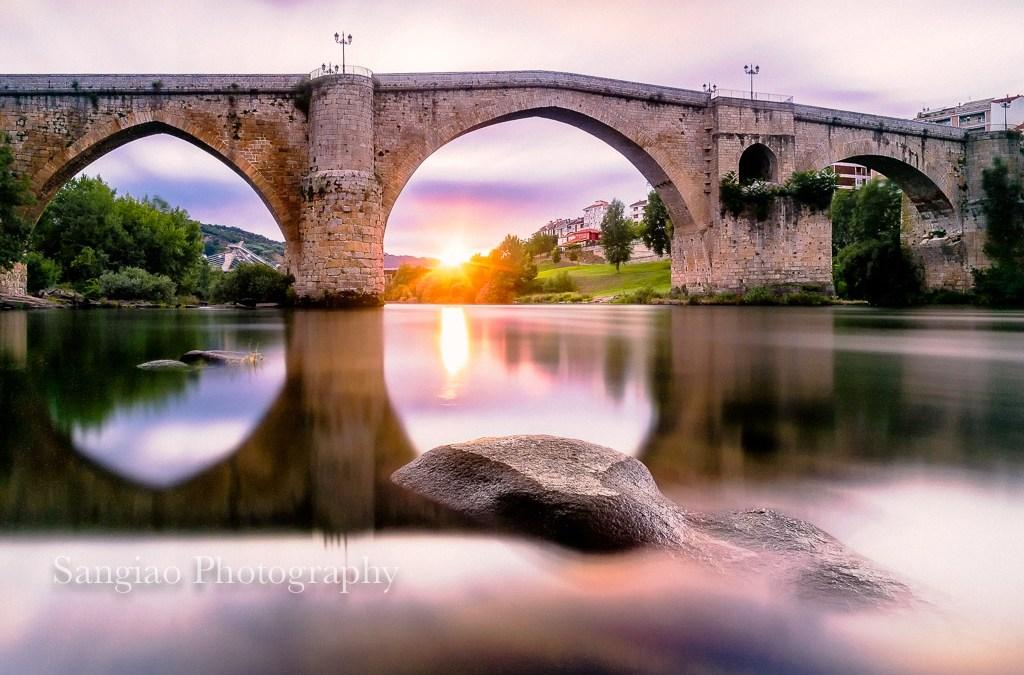 Aventuras de Interrail fotográfico por España. I) Orense, El Puente Romano