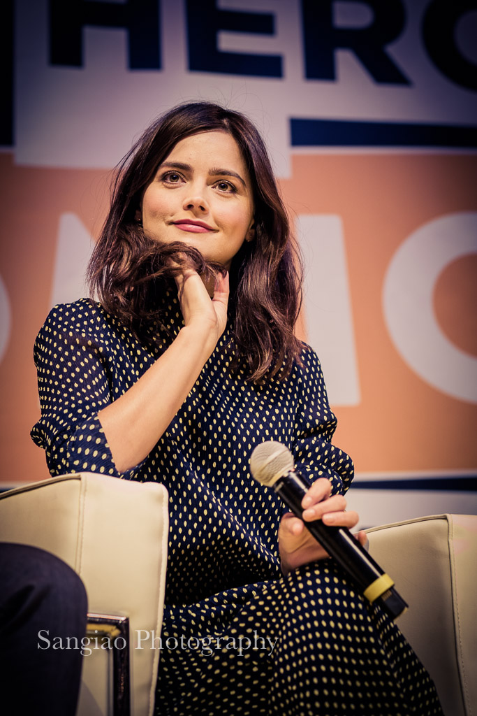 Jenna Coleman comic dorctor Who con Madrid