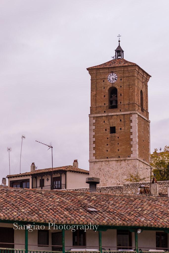 torre reloj chinchón fotografía madrid