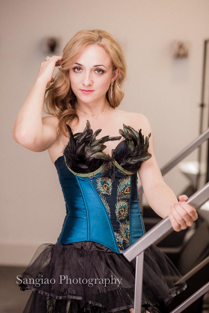 fotos boudoir con corset madrid