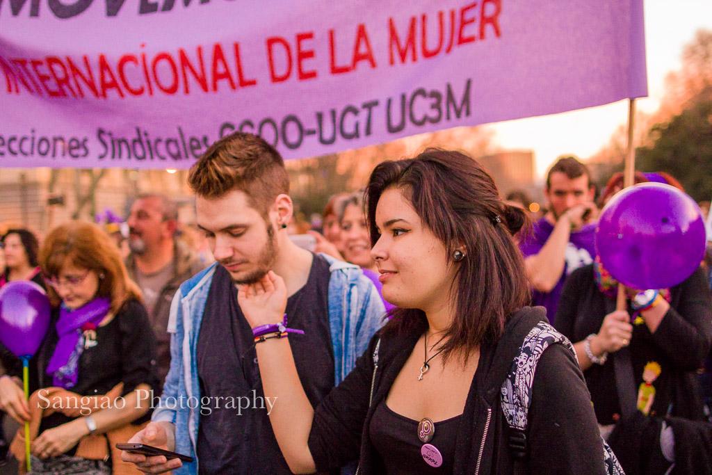 Manifestación Día Internacional de la Mujer