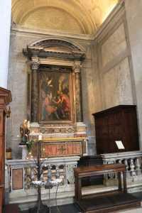 Ingresso Prima Cappella destra