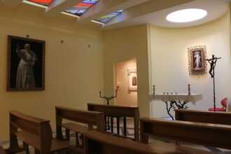 Cappella Gesù Misericordioso lato destra chiesa