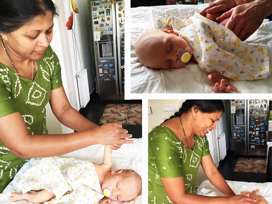 Ámulatba ejtő kisbaba esete a babamasszázzsal – próbáld ki te is a babamasszázs dvd segítségével