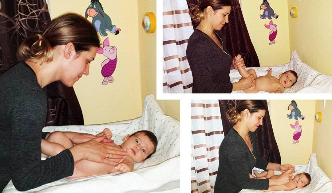 Az örömteli pukizás története egy hasfájós kisbabával – segít a babamasszázs dvd
