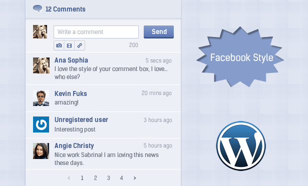 Easily Insert & Display Comments Using Ajax Style Of Social Networks In Your WordPress Site