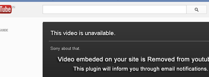 How To Get Notified For Deleted YouTube Videos Which Are Still Embedded In Your WordPress Site ?