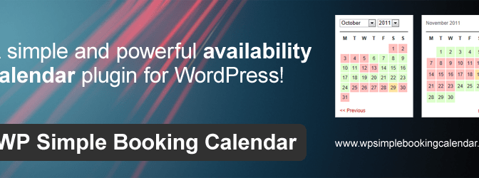 WordPress Booking Calendar For Managing Bookings & Availabilities
