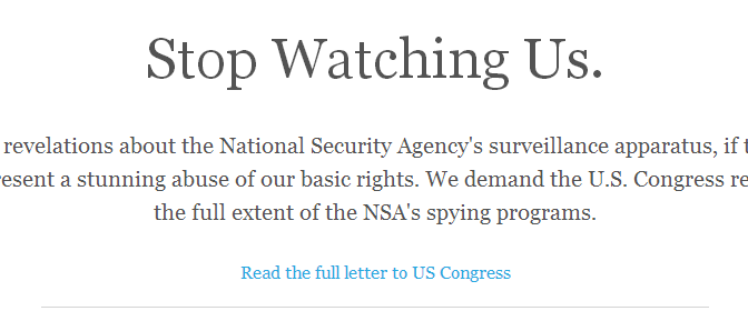 StopWatching.US, A Website To Have Your Voice Heard And Get More Information On What US Government Is Doing