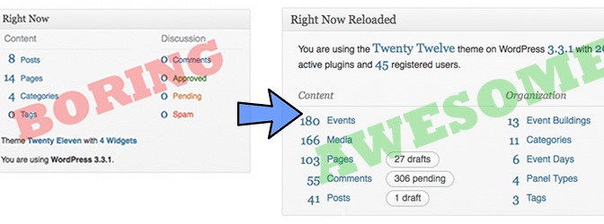Right Now Reloaded Widget For WordPress