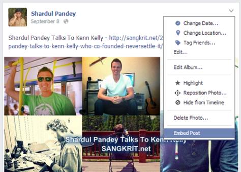 Facebook Post Embed