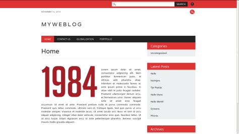 NewsWire Responsive WordPress Theme 2