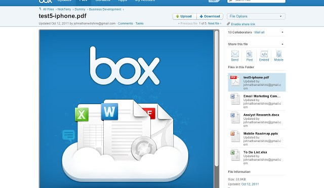 Box: Another Web Service Providing 10GB Of FREE Cloud Storage