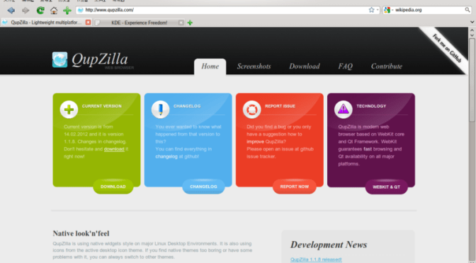 How To Install Qt Web Browser 'QupZilla' In Ubuntu Linux?