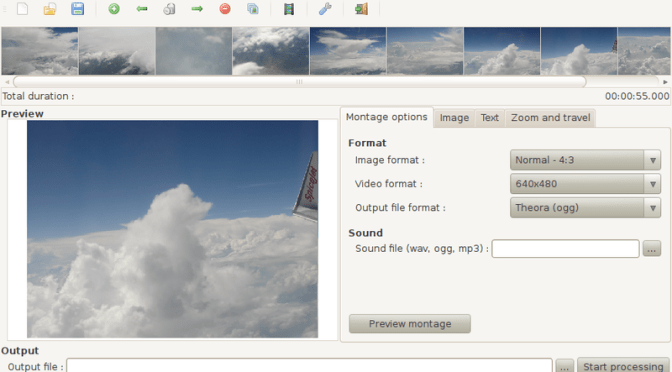 How To Create & Export Photo Slideshows As Video Files In Ubuntu?
