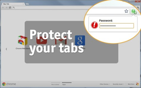 Easily Hide, Save, Pin Lock Then Restore All Google Chrome Tabs In One Click 3