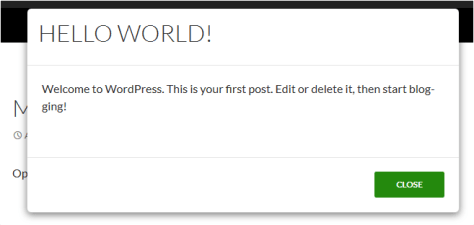How To Mention Posts Using Modal Box Link In WordPress? 4
