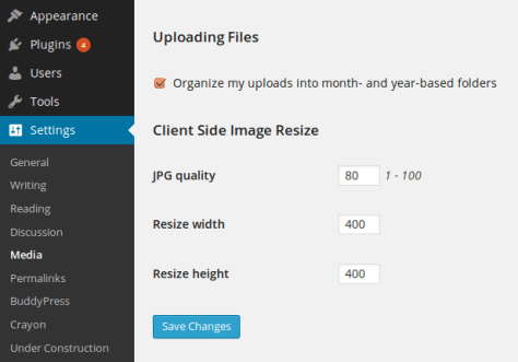 Auto Resize High Resolution Images During Uploads In WordPress