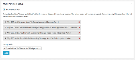 How To Create & Organize WordPress Posts In Multiple Parts? 2