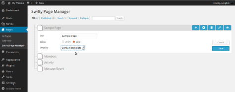Swifty Page Manager 1