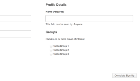 How To Allow Users To Join Groups From BuddyPress Registration Page? 1